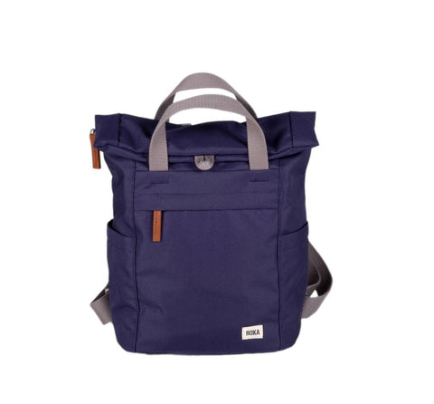 Finchley A Large Sustainable Rucksack in Ocean