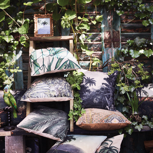 Printed Jungle Cushion