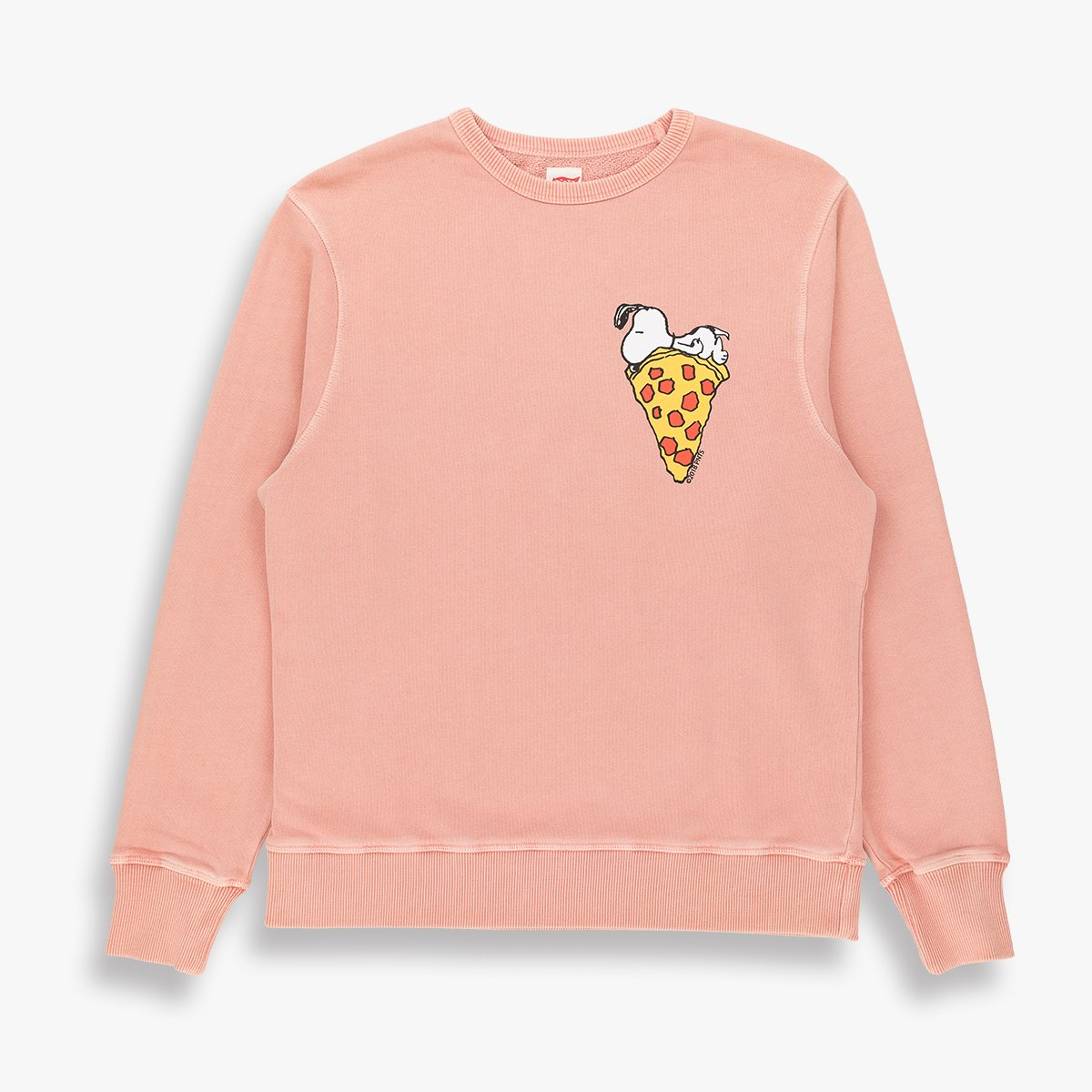 Snoopy Pizza Sweat