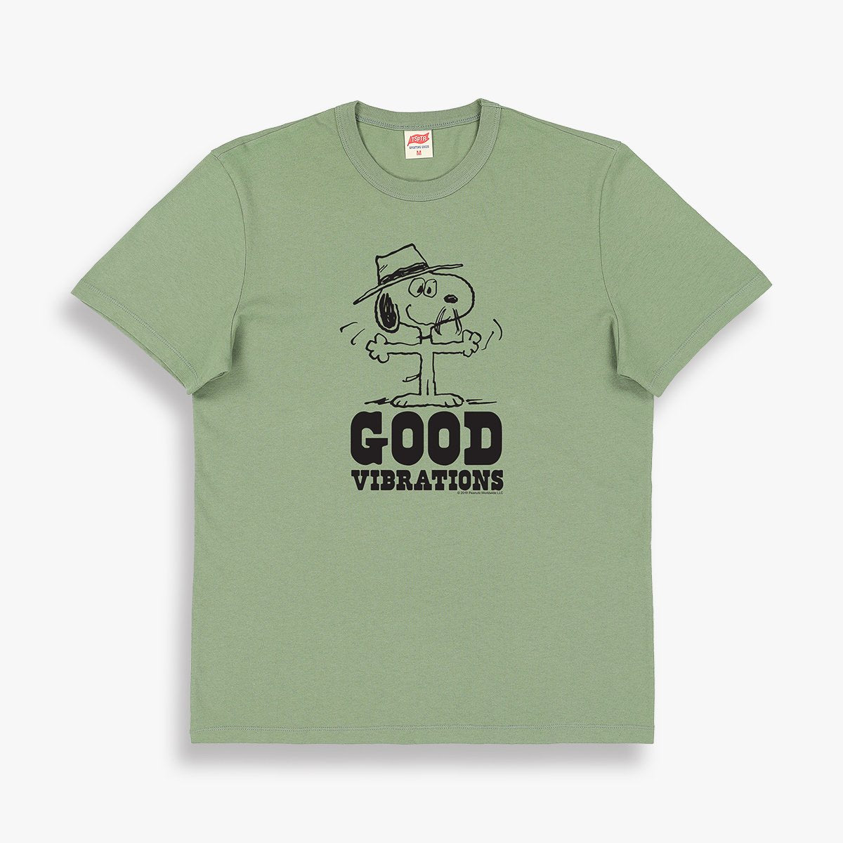Good Vibrations T-Shirt in Olive
