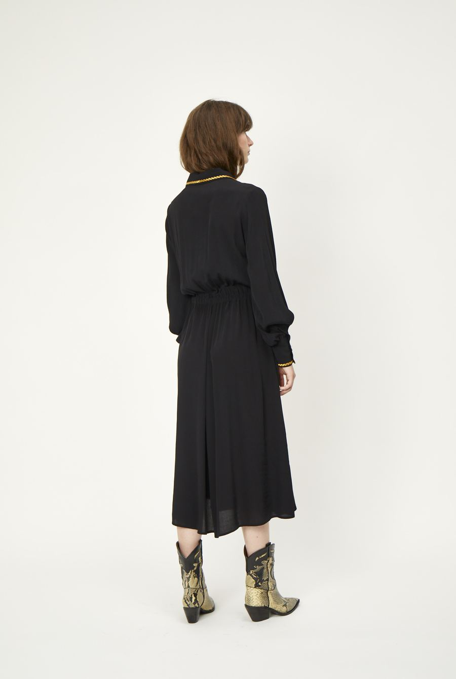 Wylie Dress in Black