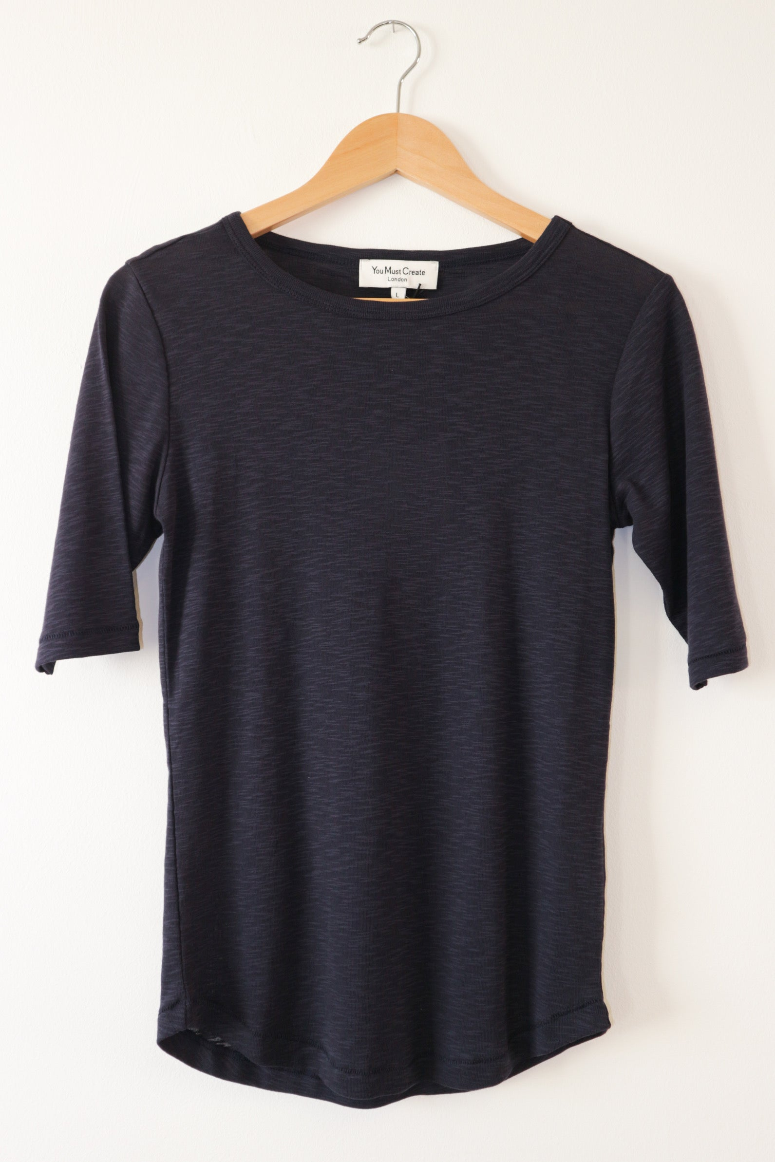 Charlotte Tee in Dark Blue