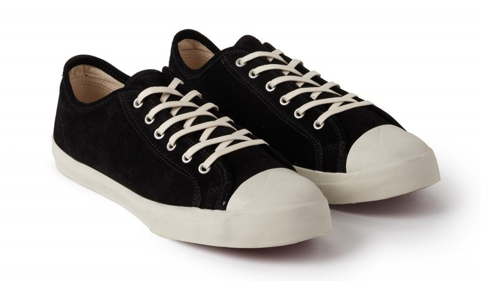 Suede Sneakers in Black