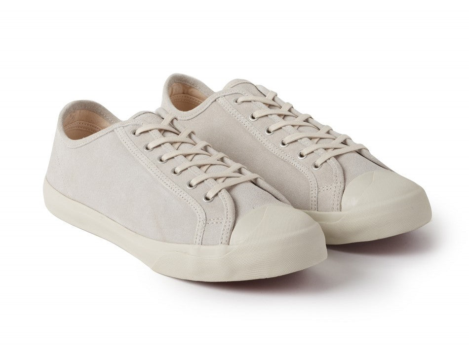 Suede Sneakers in Off White