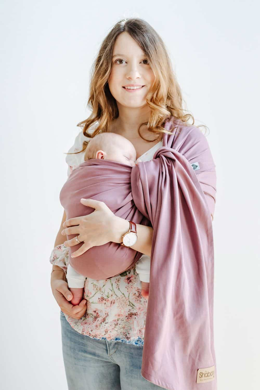 Ring Sling Plays | violett | 100% BioBaumwolle