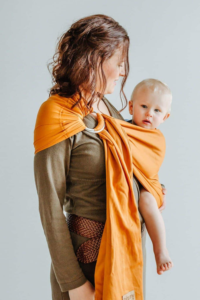 Ring Sling Likes | orange | 100% BioBaumwolle
