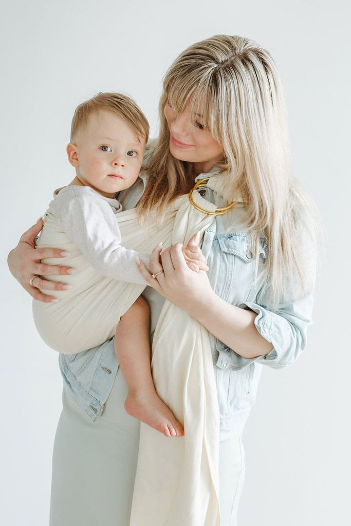 Ring Sling Dances | beige | 100% BioBaumwolle