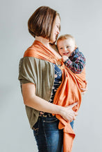 Ring Sling Loves | rot | 100% BioBaumwolle