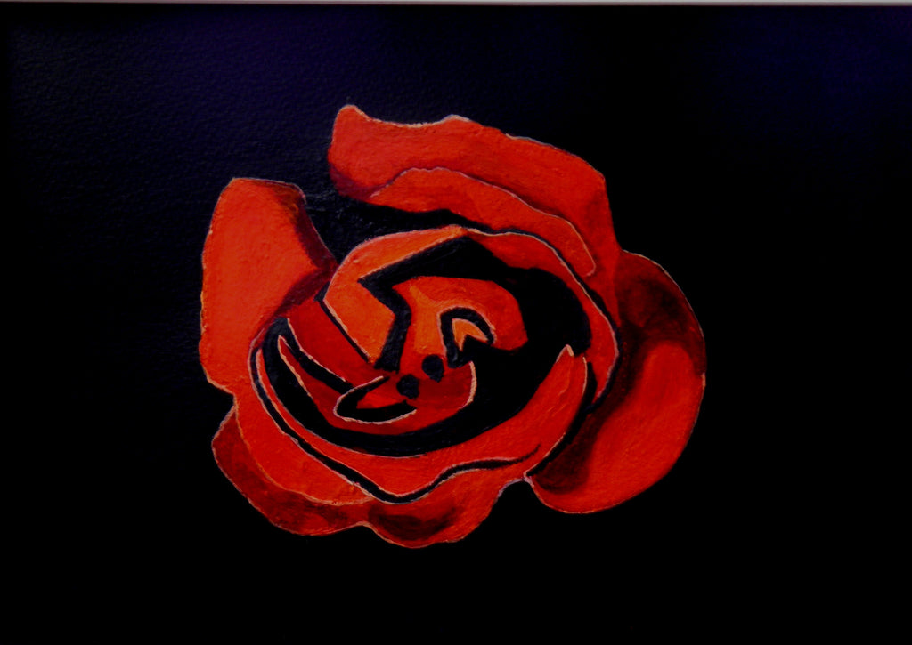 A rose is for life not just for valentines - limited edition