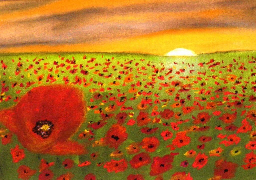 Beautiful poppies - limited edition