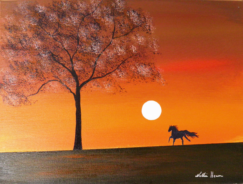 Evening gallop - limited edition