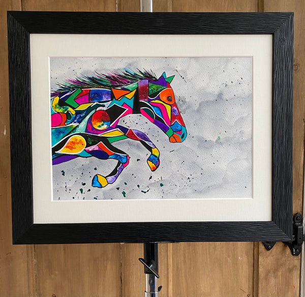 Speed - original (framed) / prints available