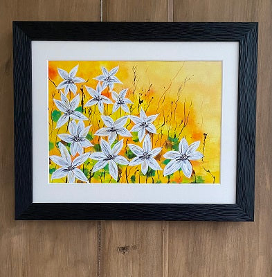 Cheerful - original (framed) / prints available