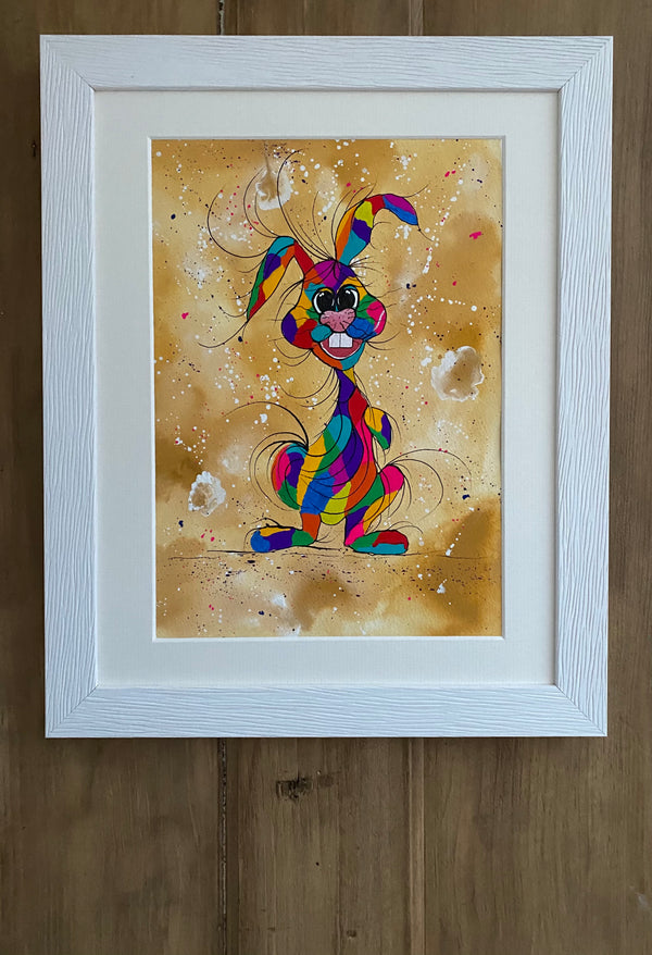 I've got humour - original (framed) / prints available