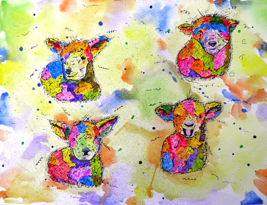 Lovable lambs -limited edition