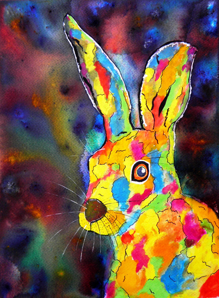 Rainbow the hare - limited edition