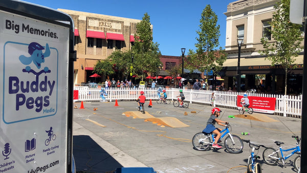 Buddy Pegs Bicycle Playground Sonoma Vita Festival