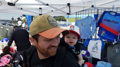 Father and Daughter at the Sea Otter Classic 2018