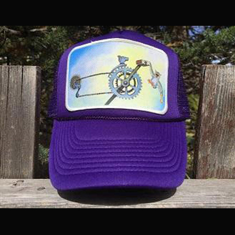 D is for Drivetrain Trucker Hat - Patch