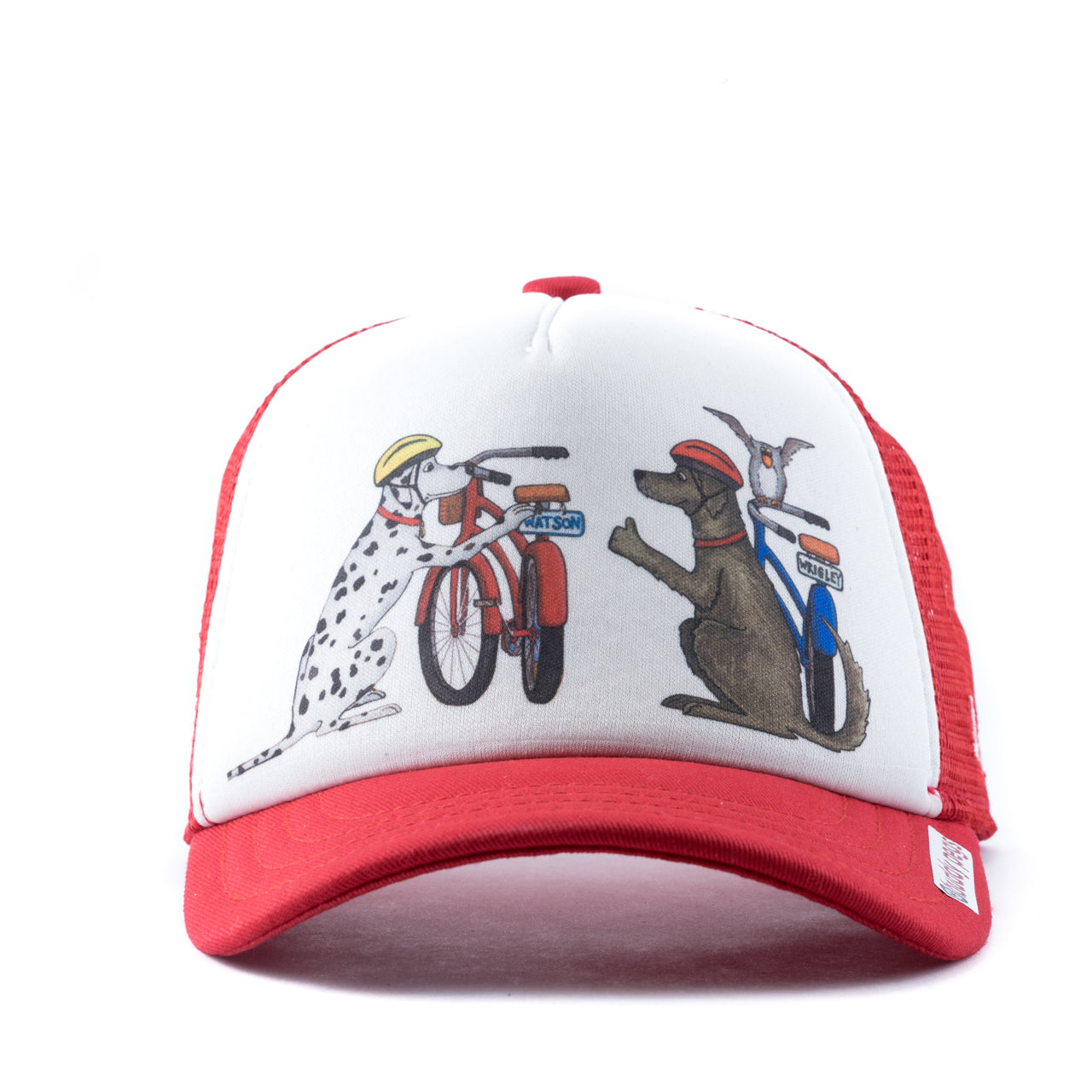 ... Keep Your Thumbs Up The Rubber Side Down Trucker Hat check out 20695  da068 ... bf6523d5dbca