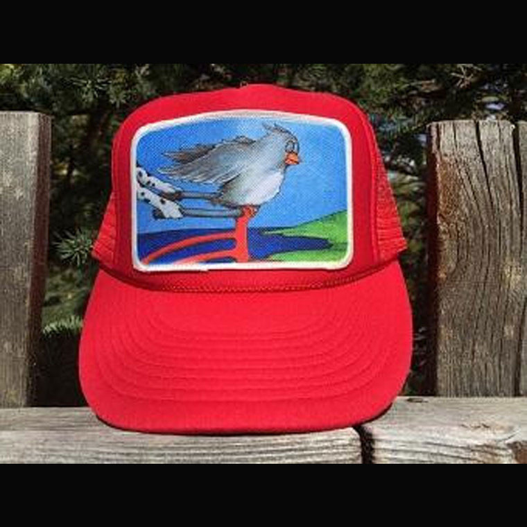 F is for Freedom Trucker Hat - Patch
