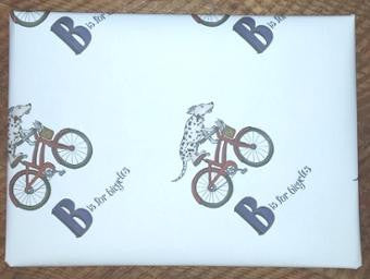 B is For Bicycles Book with Gift Wrap