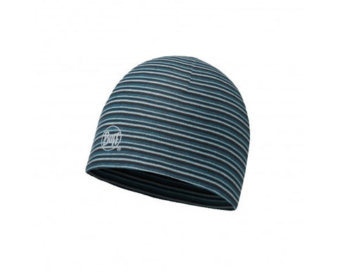 MICROFIBER REVERSIBLE HAT BUFF® STRIPES BLUE