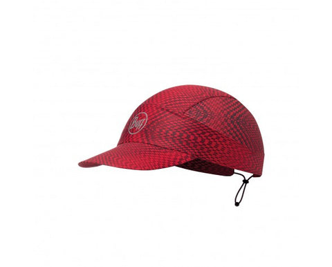 PACK RUN CAP BUFF® R-JAM RED