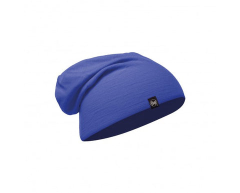 MERINO WOOL HAT BUFF® SOLID AZURE BLUE