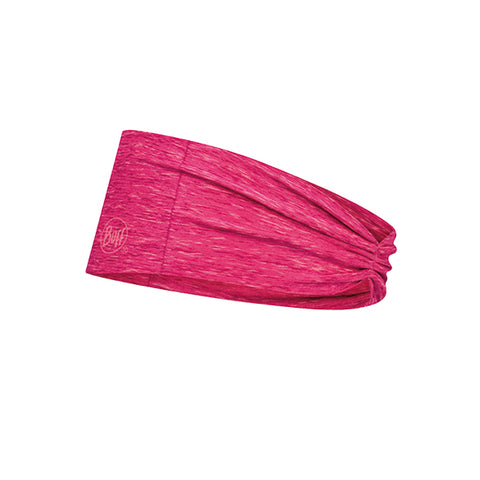 TAPERED HEADBAND COOLNET UV+ BUFF® FLASH PINK HTR