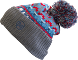 KNITTED HAT BUFF® IDRISS BLUE