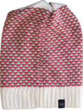 KNITTED NECKWARMER HAT BUFF® ZILE CREAM