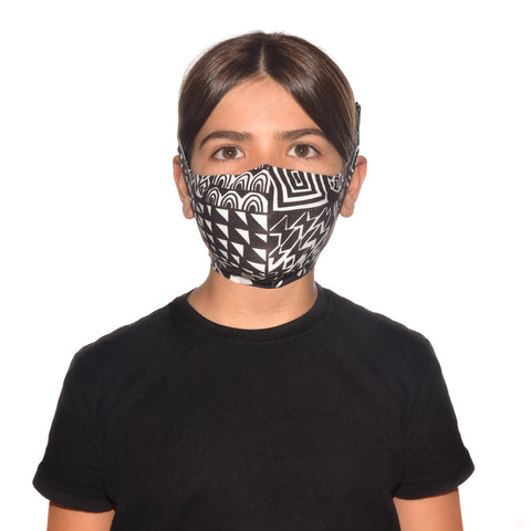(PRE-ORDER) FILTER MASK KIDS BAWE BLACK