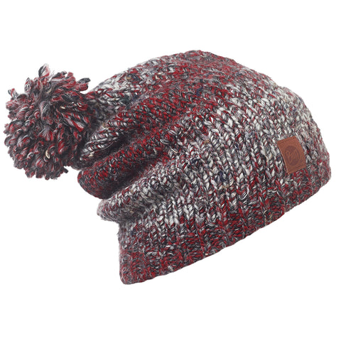 KNITTED HAT-DRYN RUBY WINE