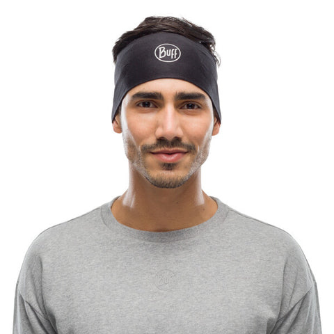 COOLNET UV + BUFF® HEADBAND SOLID BLACK