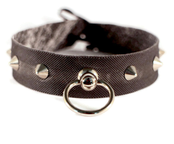 fetish bondage collar necklace choker