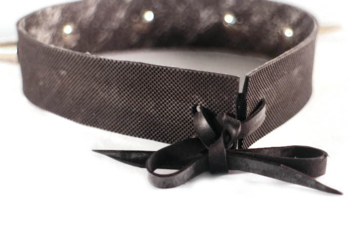 bondage fetish necklace collar choker