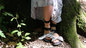 DIY Car Tyre Sandals with Interchangeable Straps