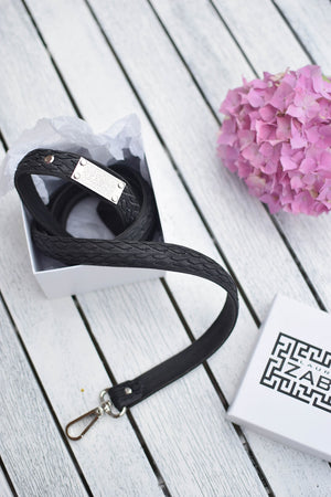vegan leather free dog lead by laura zabo