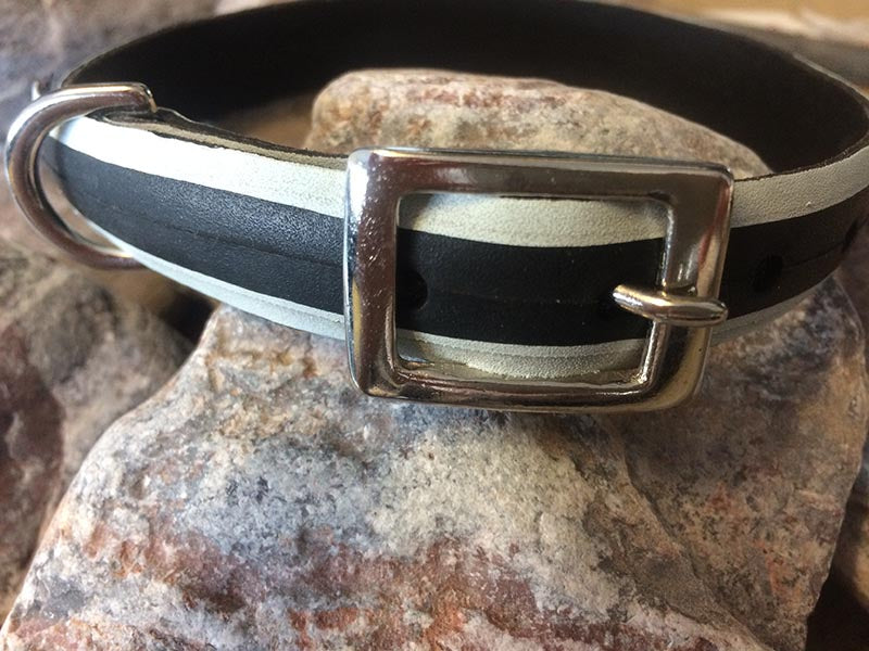 vegan vegetarian upcycled dog collar dog accessories by laura zabo