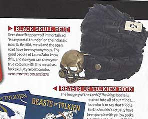 laura zabo tyrewear in metal hammer magazine