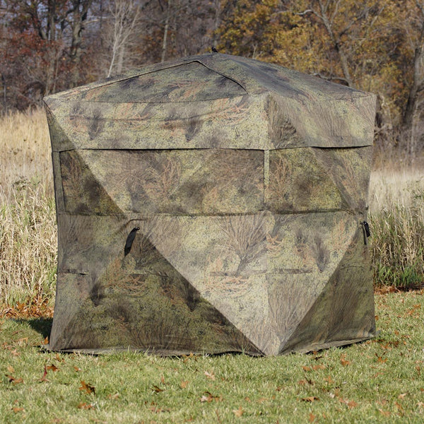 Rhino Blinds Mossy Oak Brush Blind