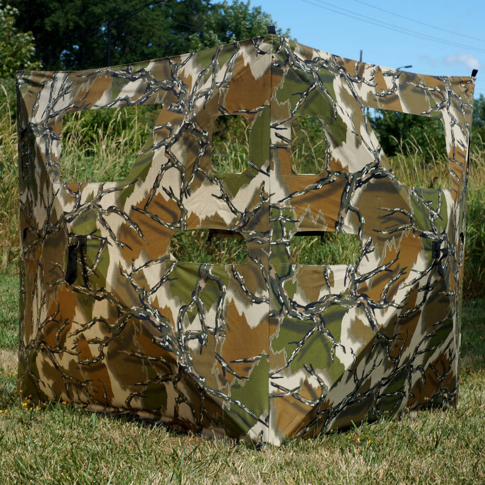 in crossbow ground hunting shooting design viewing hunt daily infinitely bow blinds to for angles match offers diverse ups variable and ante the terrain vertical view technology sale your rhino blind requirements