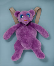 PURPLE TEDDY MARLEY BACKPACK