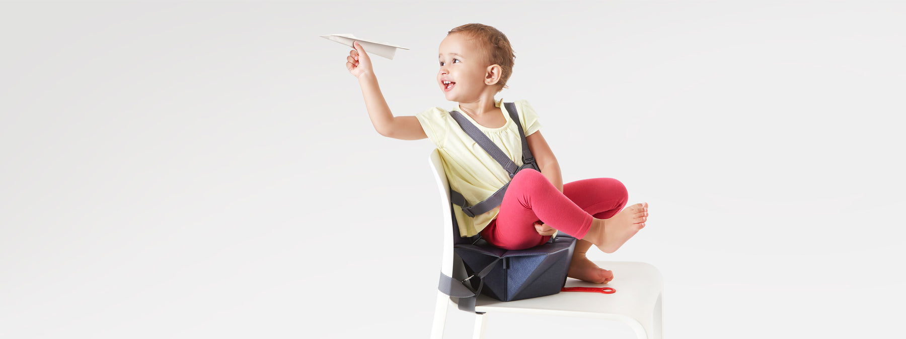 Bombol foldable Pop-Up booster with moving kid