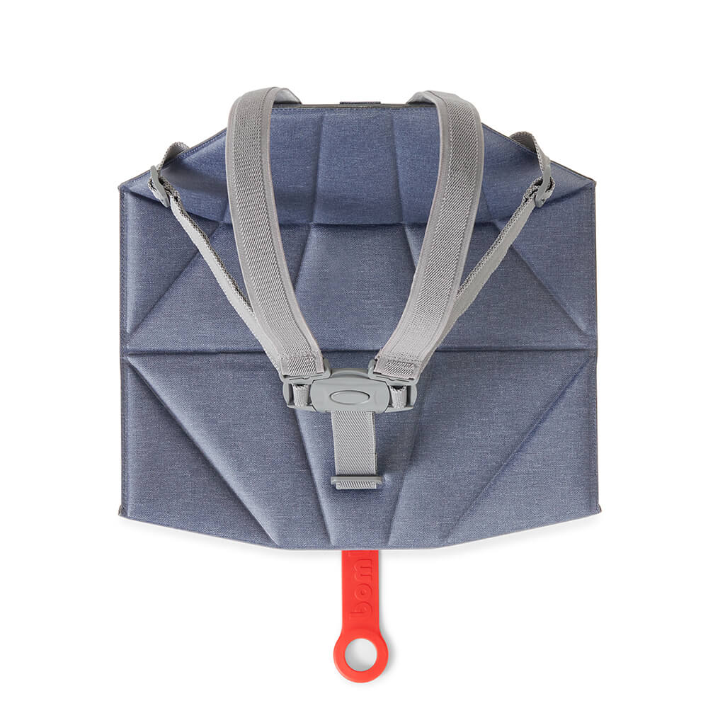 Foldable Denim Blue Pop-Up booster