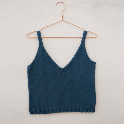 Front of Summer Lovin' Camisole available from The Knitter's Yarn