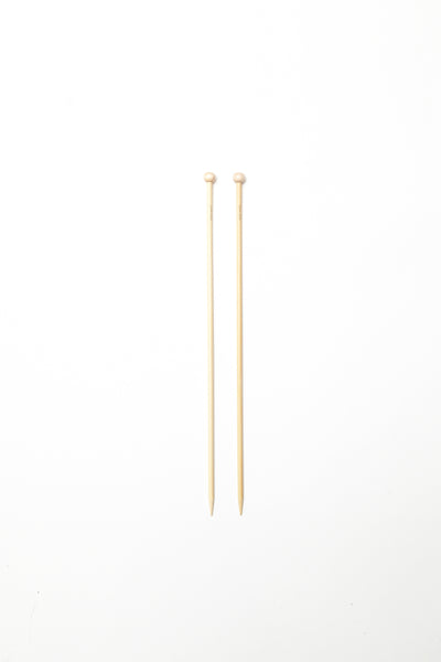 "Addi Bamboo Single Pointed Needles 35cm (14"") - The Knitter's Yarn"