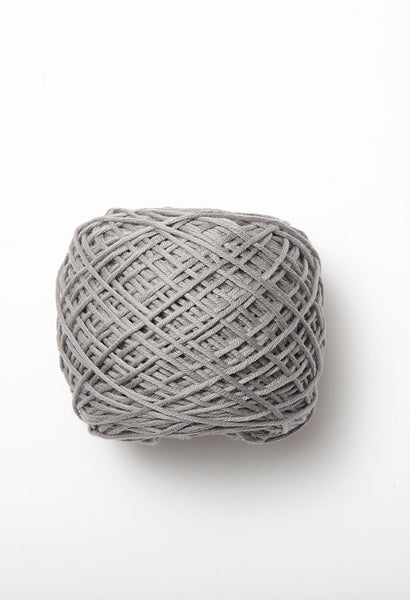 Beautiful eco-baby yarn by Debbie Bliss stocked by The Knitter's Yarn. Colour Smoke.