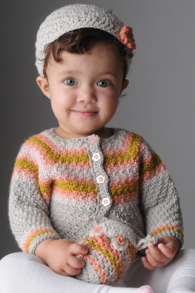 Mrs Moon Florence Cardigan - Crochet - The Knitter's Yarn